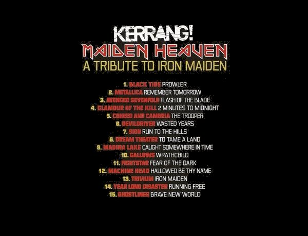 Maiden Heaven – Back cover